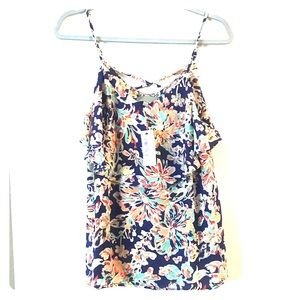 New with tags floral tank